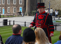 Be sure to tour the Tower of London